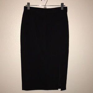Ann Taylor Midi Pencil Skirt Women's 2